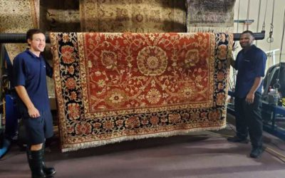What happens after you come pick up my rugs for cleaning?