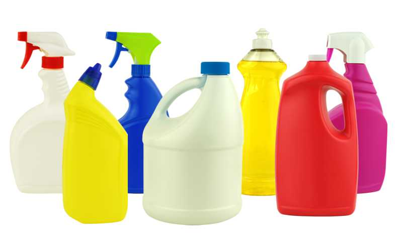 Over the counter cleaning products