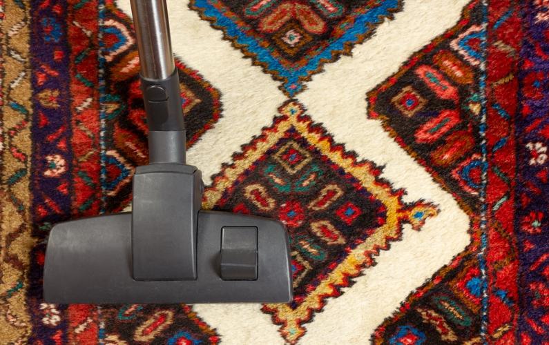 Vacuum an Oriental Rug
