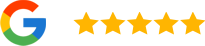 Google Review Icon and Stars